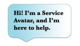 Hi I'm a Service Avatar
