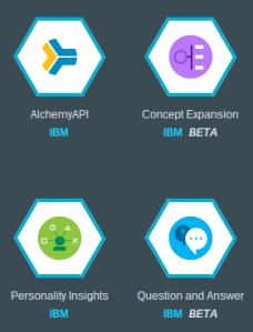 Bluemix services