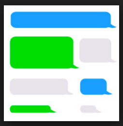 Iphone Chat Bubble Png