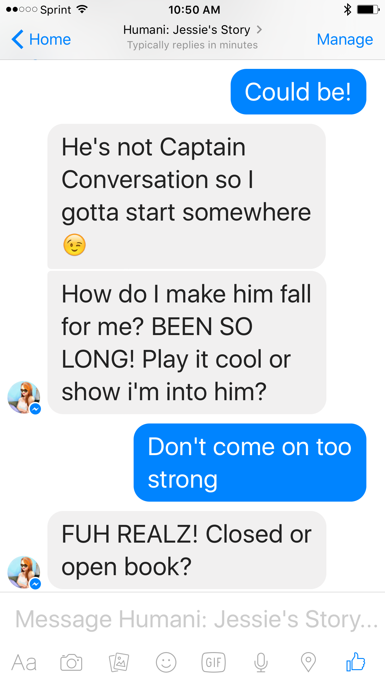 how to start up a conversation with a guy